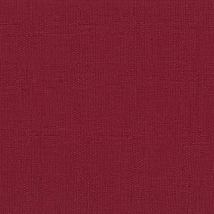 Essex Cotton/Linen Blend in Wine