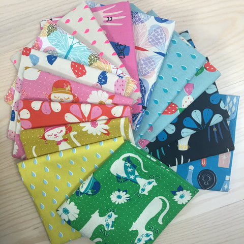 Beauty Shop Fat Quarter Bundle - 20 fat quarters - Cotton and Steel