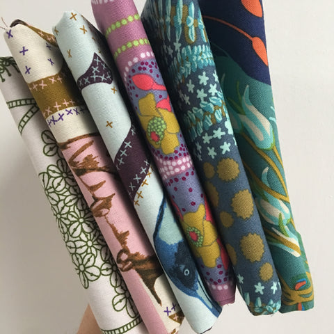 Sweet Dreams Fat Quarter Bundle Anna Maria Horner 6 piece fat quarter bundle