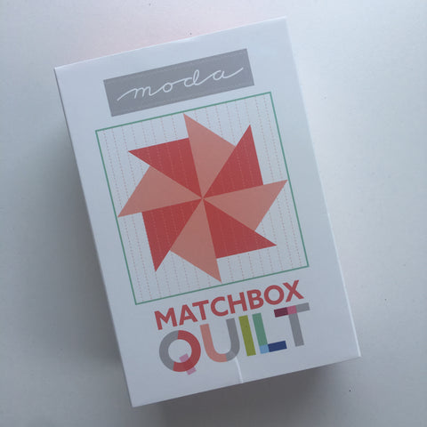 Moda Matchbox Quilt - No. 4 Red
