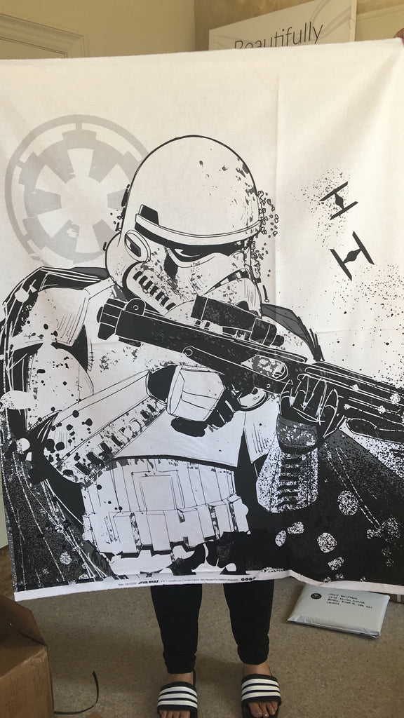 "Star Wars Refresh - Stormtrooper 36"" Panel in White"