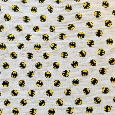 Batman Logo in White - Bambino - Camelot Design