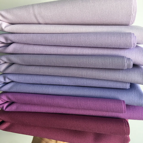 Purple - Kona Cotton Bundle