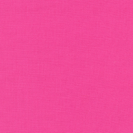 Kona Cotton Solids - Bright Pink