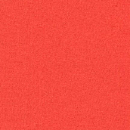 Kona Cotton Solids in Coral - IN STOCK