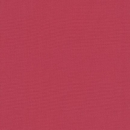 Kona Cotton Solids in Deep Rose - IN STOCK