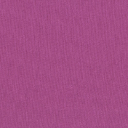 Kona Cotton Solids in Plum - IN STOCK