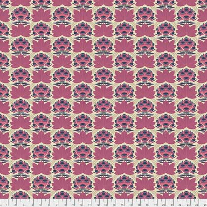 Sugar Bloom in Berry - Avalon fabric collection - Joel Dewberry