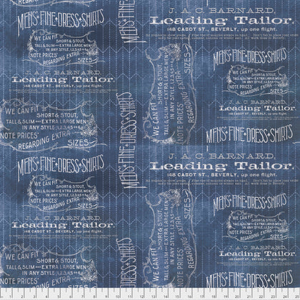 Tailored in Blue - Tim Holtz