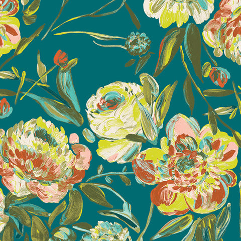 Prima Flora in Calma - Virtuosa Fabric Collection - Bari J.