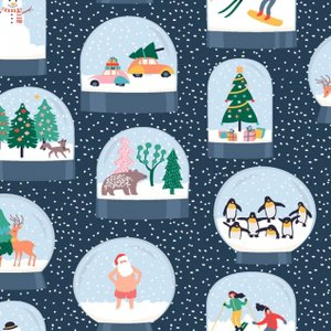 Snow Globe in Multi - Dear Stella