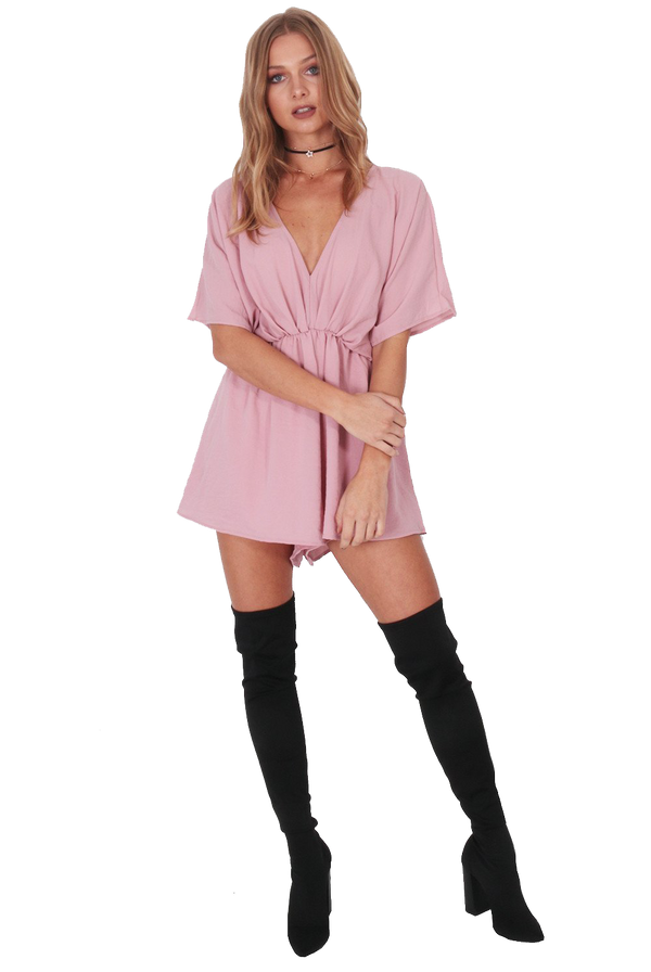 Between Boys Playsuit