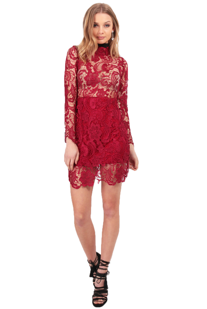 Moon Rising Lace Dress