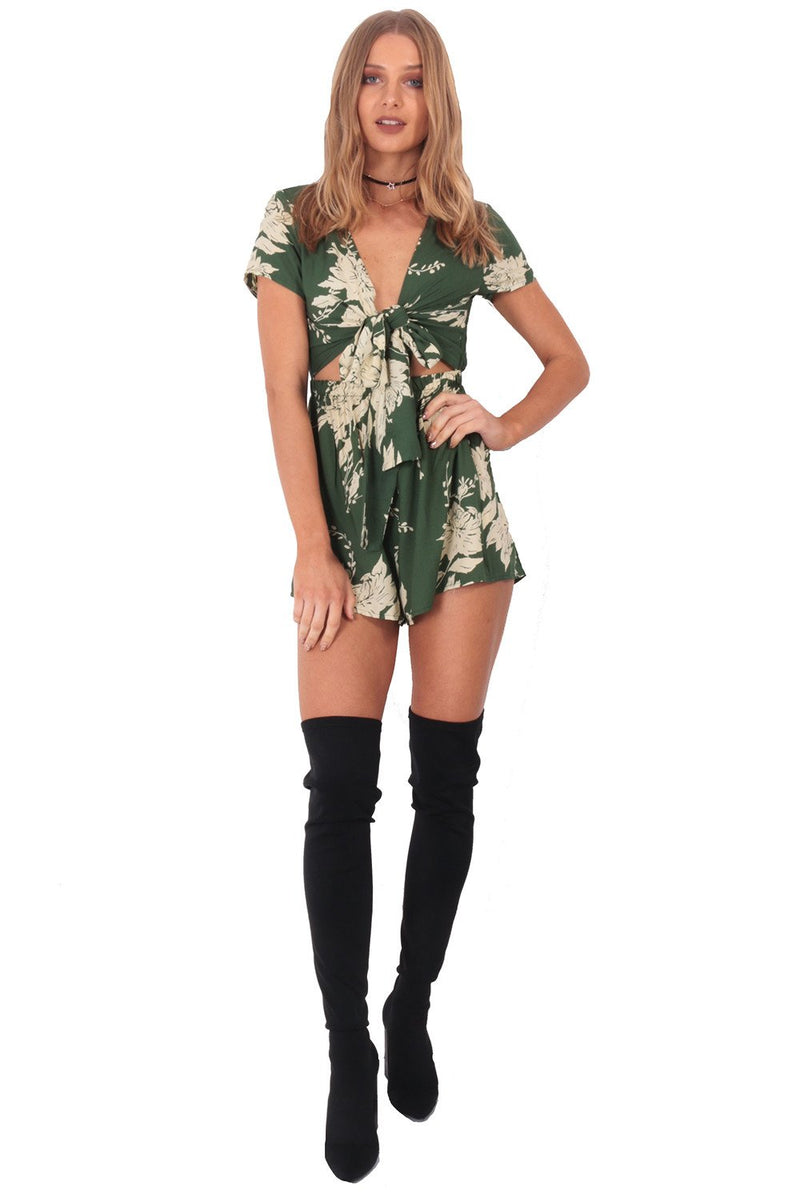 A Girl And A Boy Playsuit