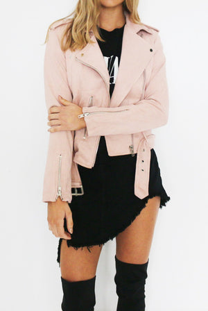 SOFT SPOT JACKET // BLUSH