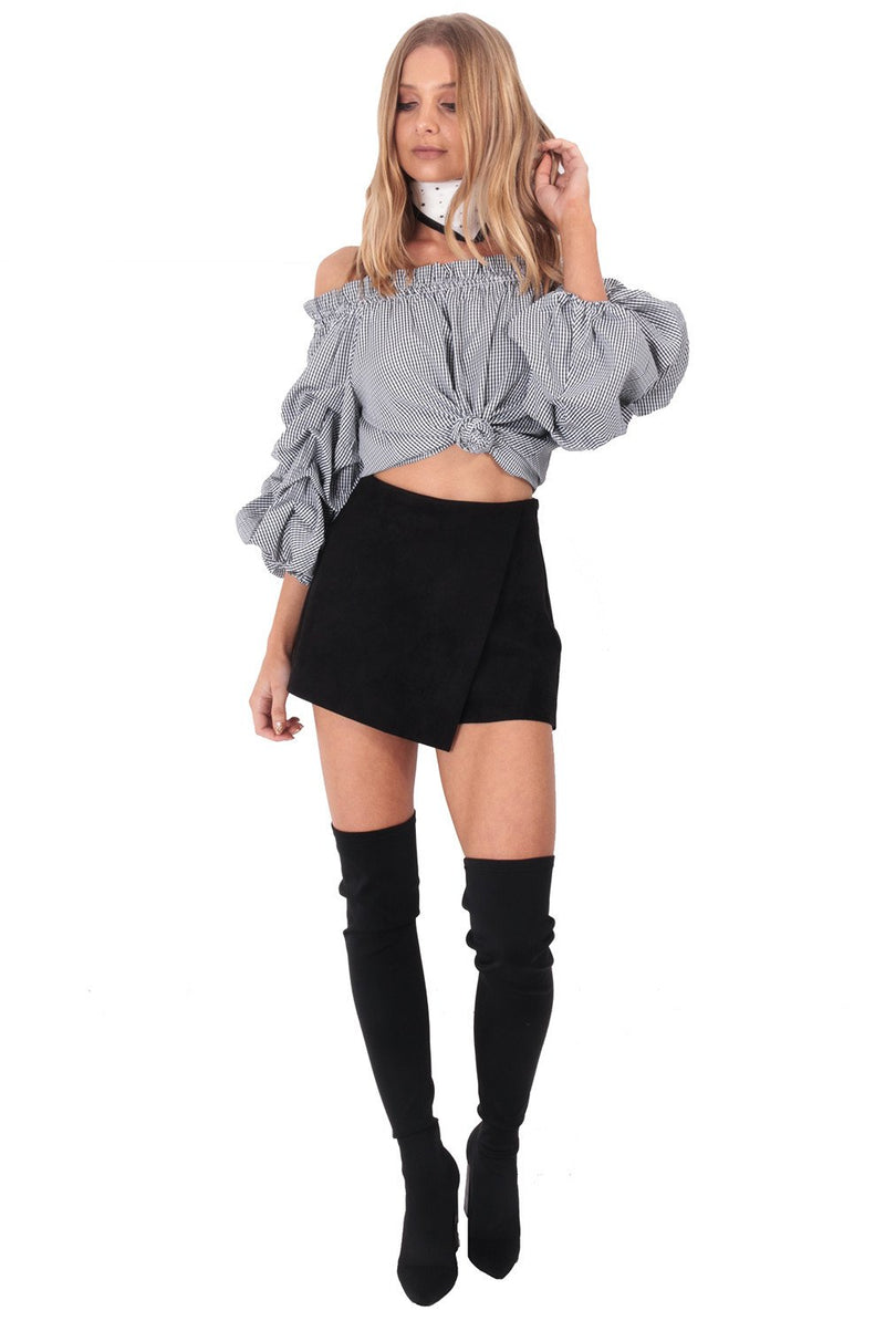 Midnight Mystery Skort / Black
