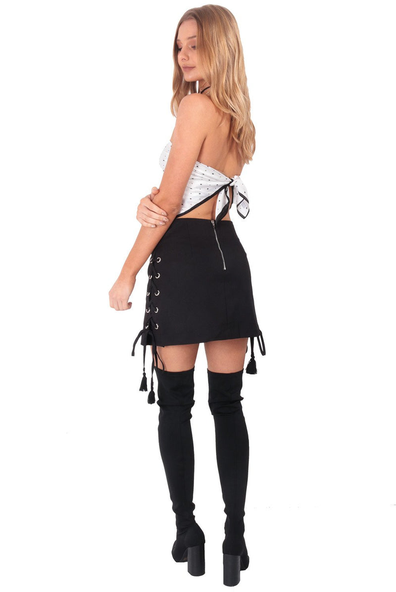 Legacy Mini Skirt / Black