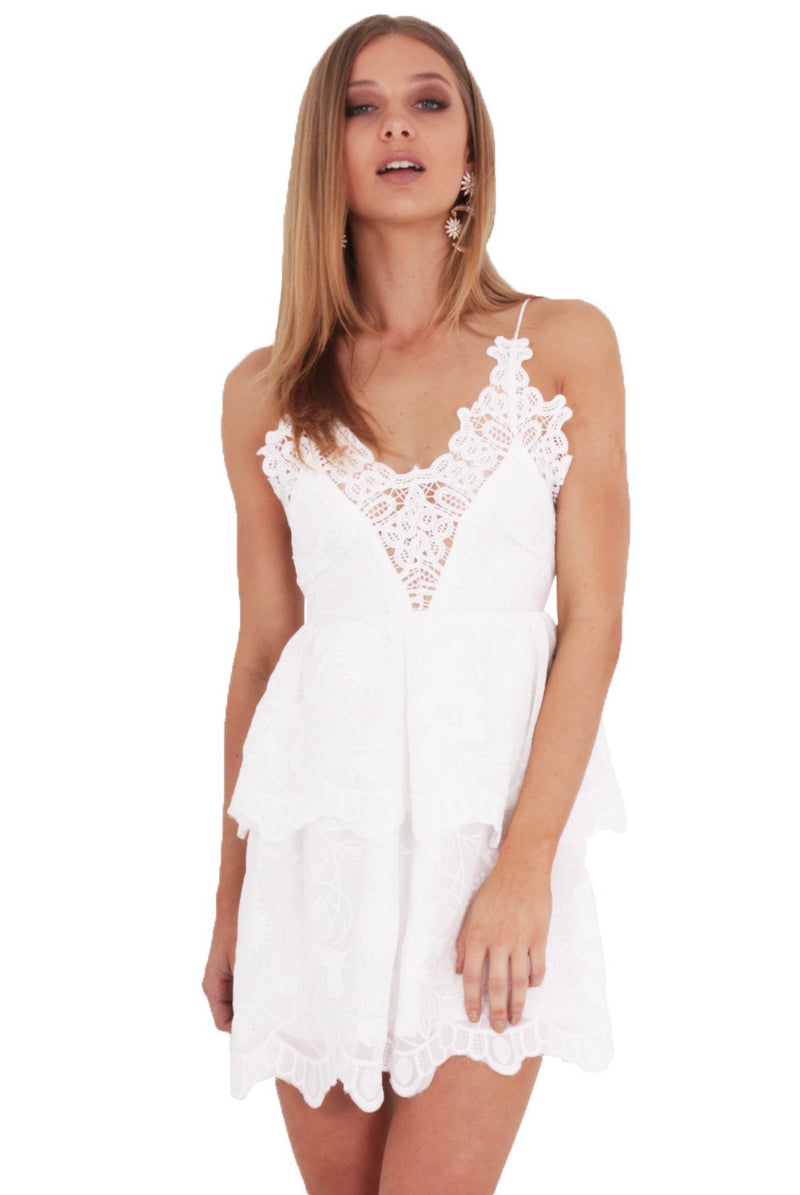 Moondust Lace Dress