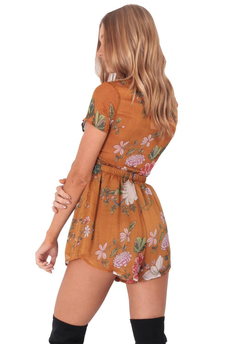 Misty Roses Playsuit
