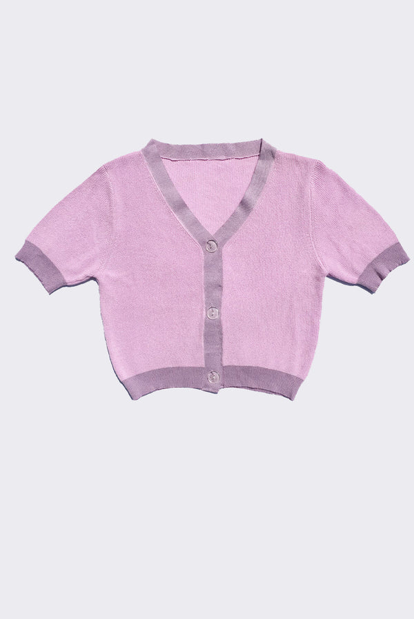Postcards from Paris Top / Lilac