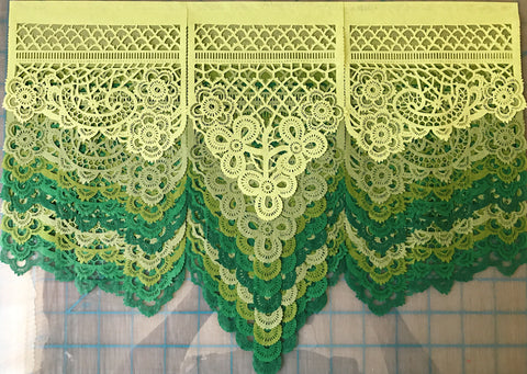 Custom Irish lace papel picado by Ay Mujer Shop