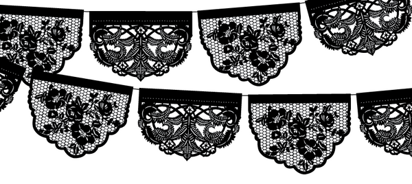 Original custom papel picado designed by Ay Mujer Shop