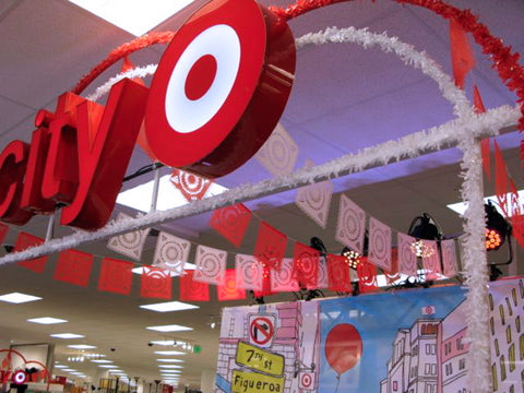 Branded corporate Target papel picado by Ay Mujer shop