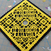Custom grad cap art in Spanish - Ay Mujer Shop