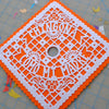 Custom Chingona grad cap art by Ay Mujer Shop