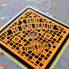 Grad Cap Art - personalized, custom color