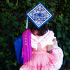 Ay Mujer Shop - custom preschool grad cap art