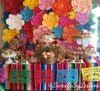Fiesta dessert table decor - papel picado by Ay Mujer