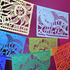 Baby shower papel picado banners by Ay Mujer