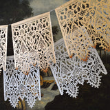 Italian lace papel picado by aymujershop