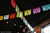 Colorful Mexican wedding flags by Ay Mujer shop