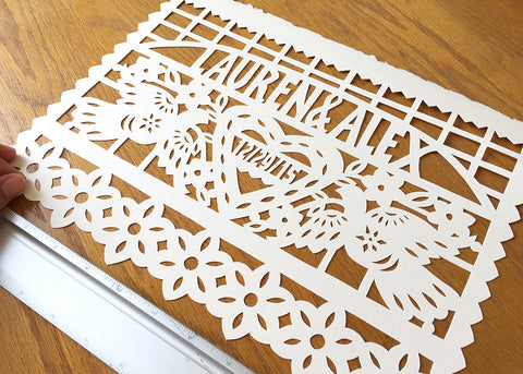 Papercut first wedding anniversary - by Ay Mujer shop