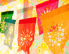 Colorful papel picado by Ay Mujer shop