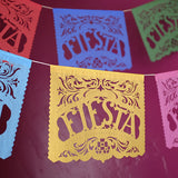 Fiesta Mexican paper banners by Ay Mujer shop