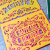 Personalized birthday fiesta papel picado by Ay Mujer Shop
