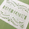 Baby Shower papel picado by Ay Mujer Shop