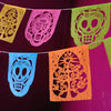 Calavera Day of the Dead papel picado banners by Ay Mujer Shop