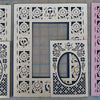 Picture Frame Mats - set #3, Muertos - choose your color
