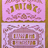 Custom papel picado fileteado by Ay Mujer shop