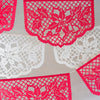 Poinsettia Christmas papel picado by Ay Mujer shop