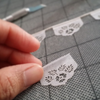 Mini floral papercut flags by Ay Mujer shop