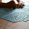Handcutting details in papel picado by Ay Mujer Shop