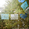 Baby SHower - baby boy- decorations - papel picado by AY MUJER