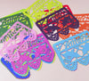 Bright colors - small papel picado flags - Ay Mujer shop
