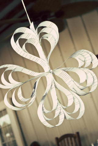 Hanging Paper Ornament