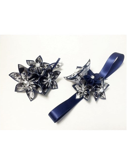 Date Night Corsage & Boutonniere Set